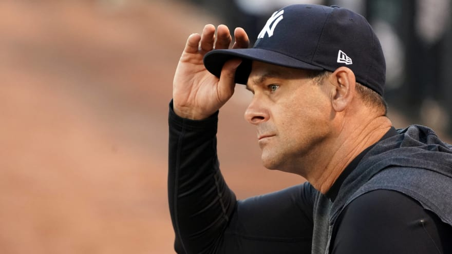 Yankees give update on Aaron Boone leave of absence timetable