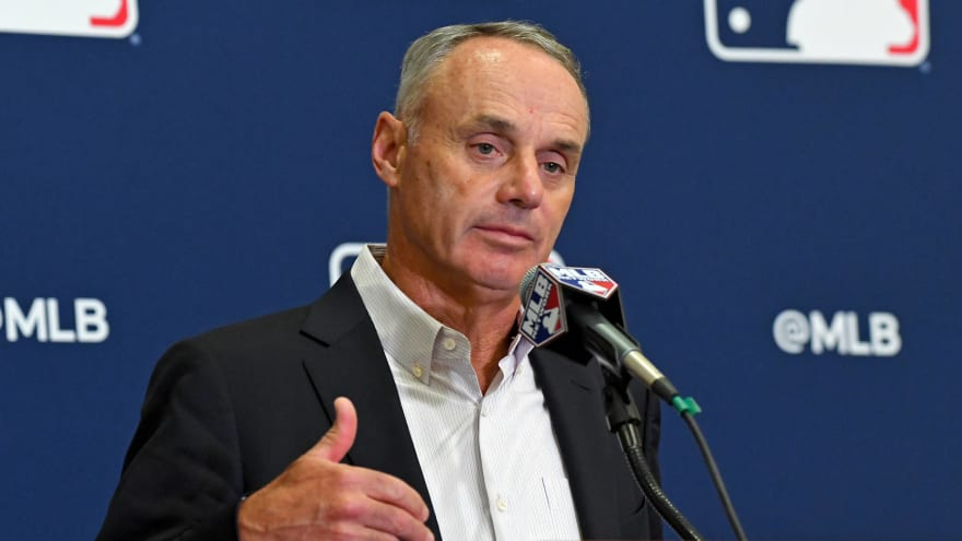 Rob Manfred: MLB will be 'lucky' to complete 60-game season