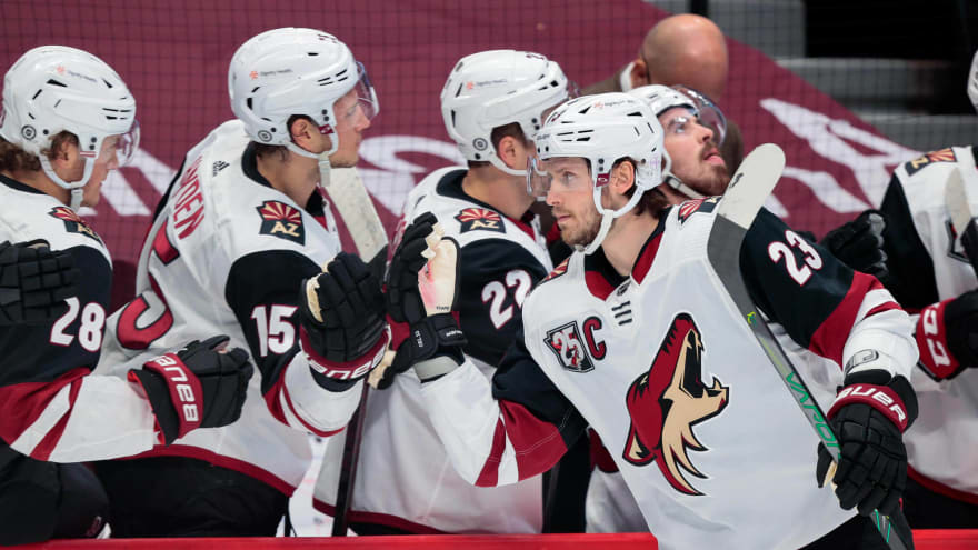 NHL confirms Coyotes' move to Central Division