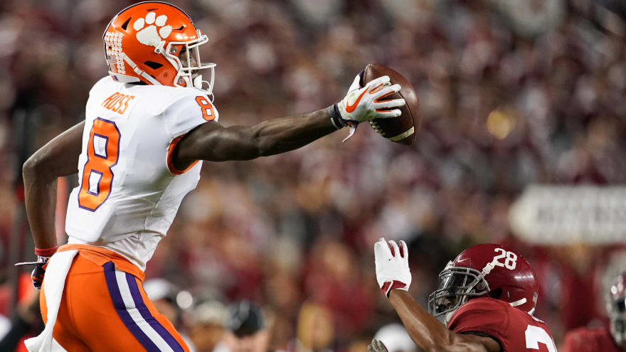 Watch: Clemson WR Justyn Ross makes unreal one-handed catch
