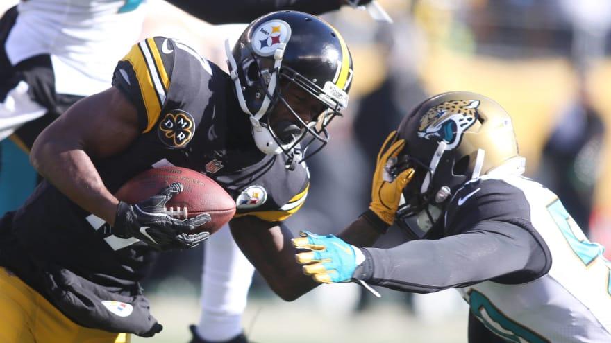 Steelers WR Eli Rogers returns to practice