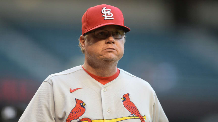 Mike Shildt fired as manager of Cardinals