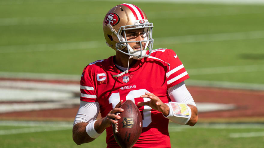 Report: 49ers asking for first-rounder in trade for Garoppolo