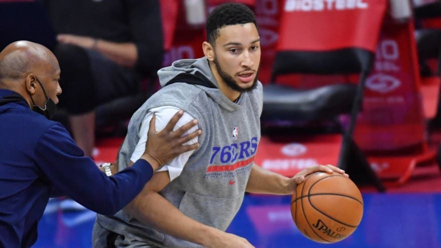 Report: Simmons 'intends to never play another game' for 76ers