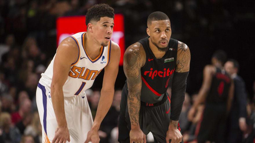 LeBron: Booker, Lillard most disrespected players in NBA