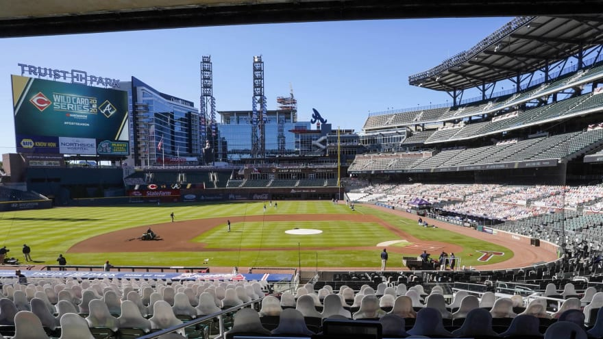 Braves to allow 100% capacity at Truist Park beginning next month