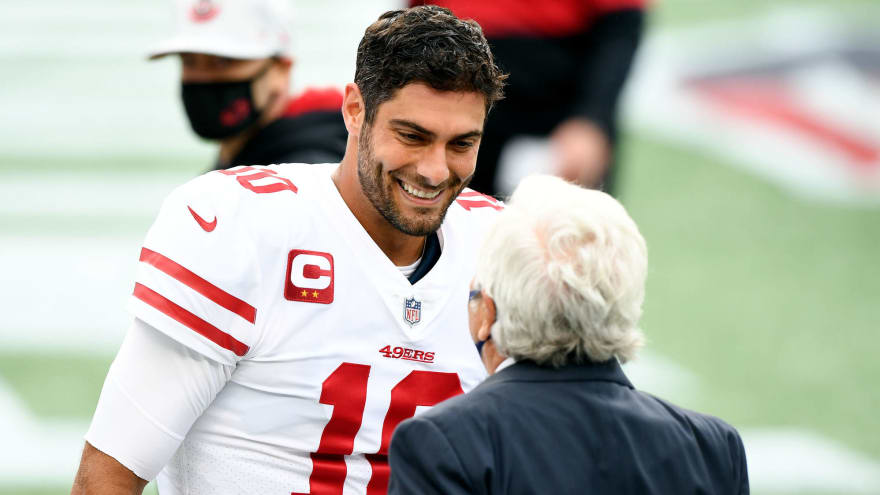 Patriots could pursue Jimmy Garoppolo in 2022?