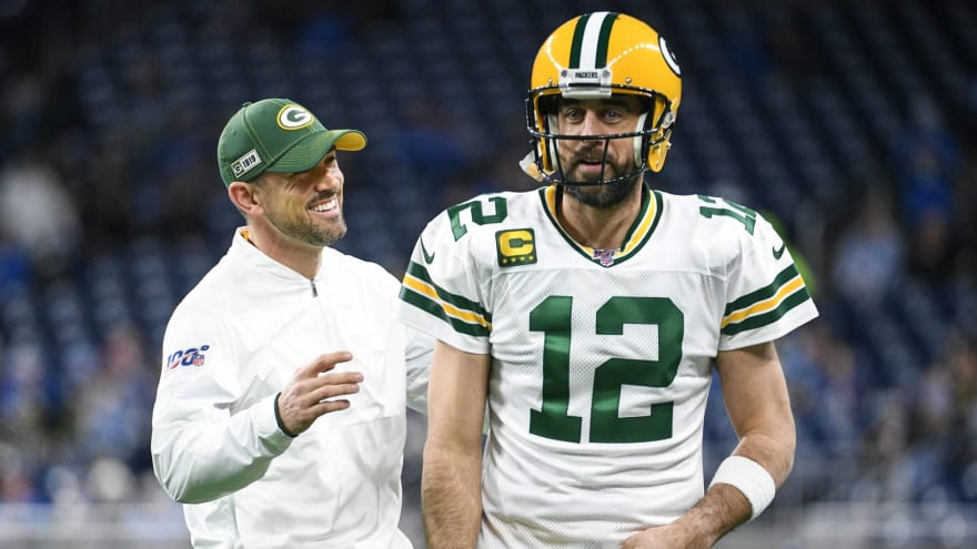 Packers HC Matt LaFleur: Rodgers staying 'for a long time'