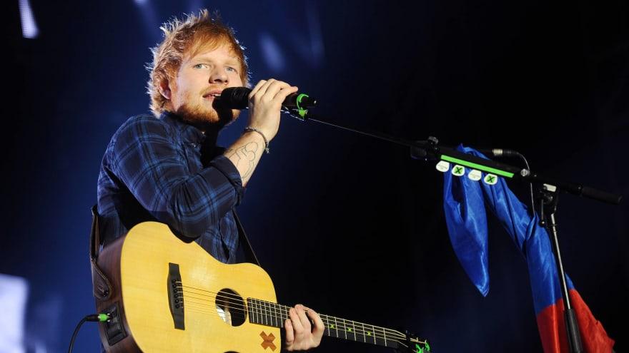 Ed Sheeran transforms into a vampire to tease new single