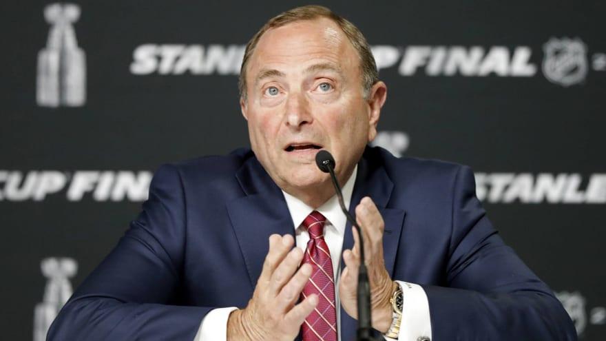 NHL wants to start 2021-22 regular season Oct. 12?