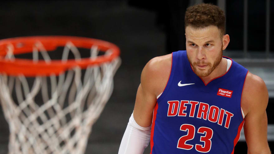 Pistons' Blake Griffin to sit during trade, buyout discussions