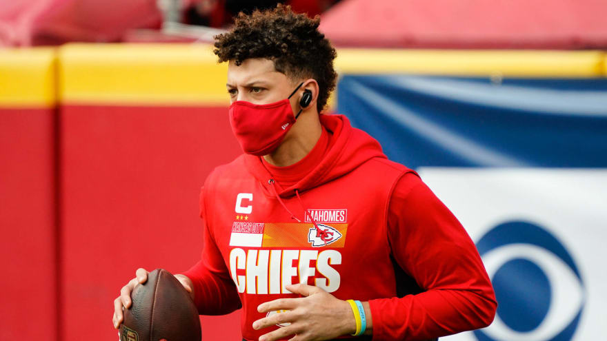 Report: Patrick Mahomes not 100%, suffering from turf toe