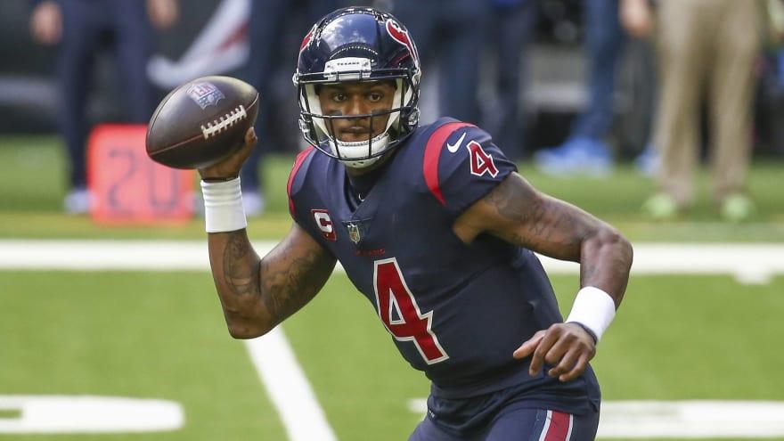 Panthers reportedly monitoring Texans QB Deshaun Watson