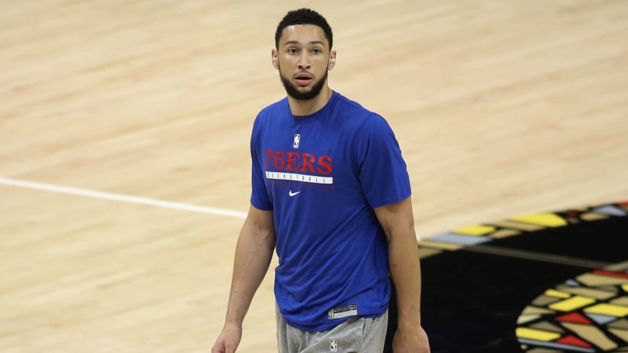 76ers deny report about Ben Simmons ghosting them