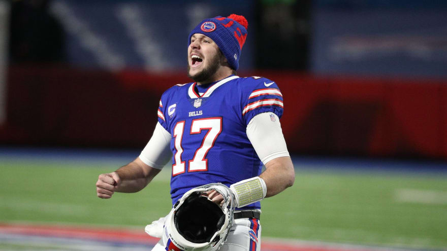Josh Allen wants to be with Bills 'for a very long time'