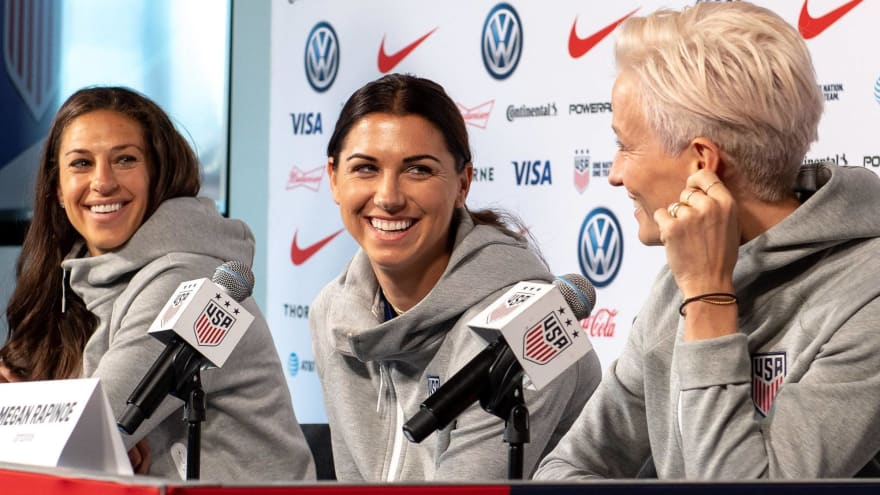 USWNT reveals impressive roster for Tokyo Olympics
