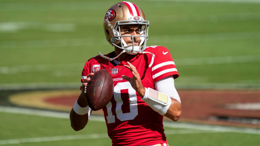 Jimmy Garoppolo 'more than happy' to mentor Trey Lance