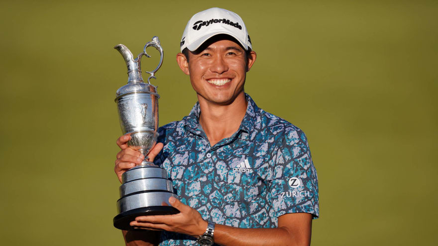 Collin Morikawa has great responses to congratulatory tweets