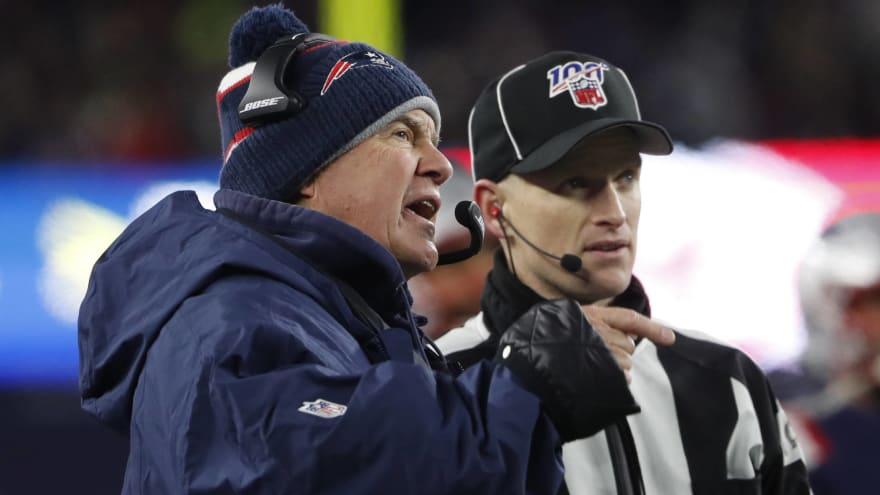 Patriots reportedly focused camera on Bengals' sideline for eight minutes