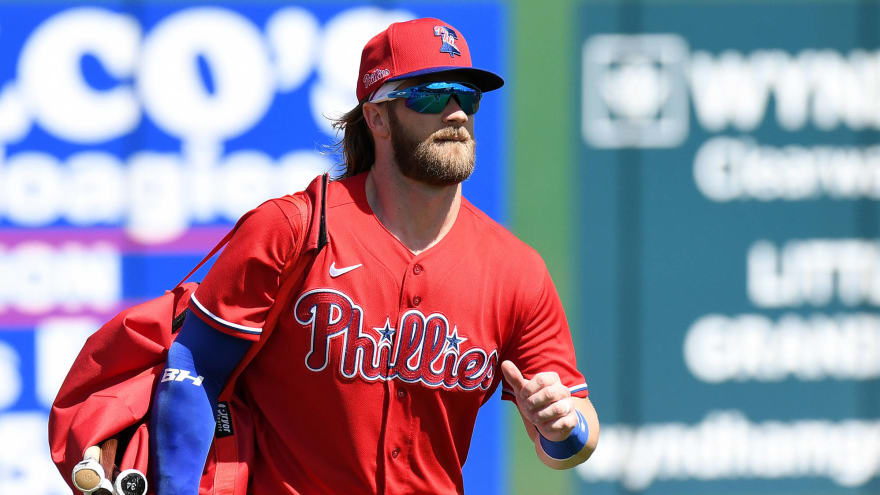 Bryce Harper jokes about playing for Eagles if MLB does not resume ...