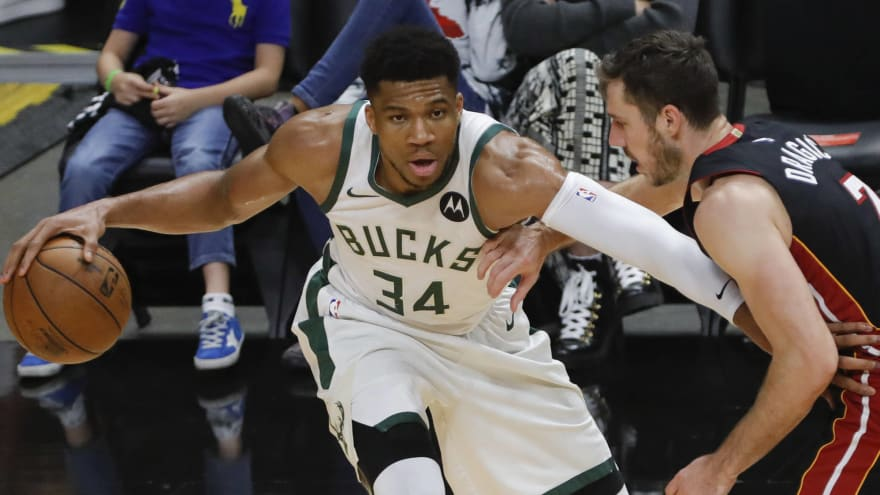 Giannis delivers savage quote about Heat after sweep