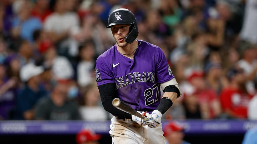 White Sox reportedly have trade interest in Trevor Story