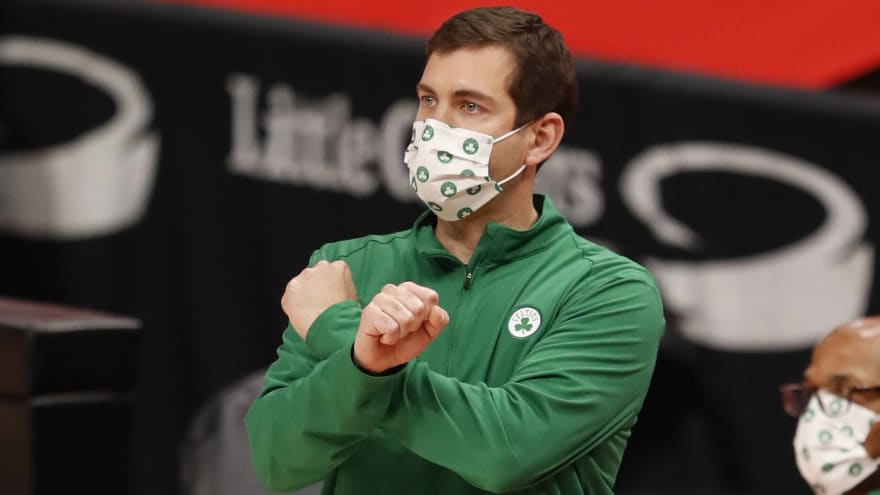 Brad Stevens bemoans the Celtics as 'very average'