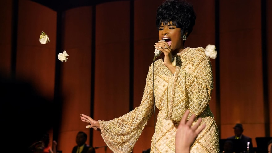 Jennifer Hudson on portraying Aretha Franklin in 'Respect': 'You don't want to let her down'
