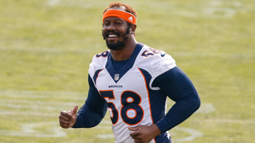 Von Miller discusses long-term plans, recovery from ankle injury