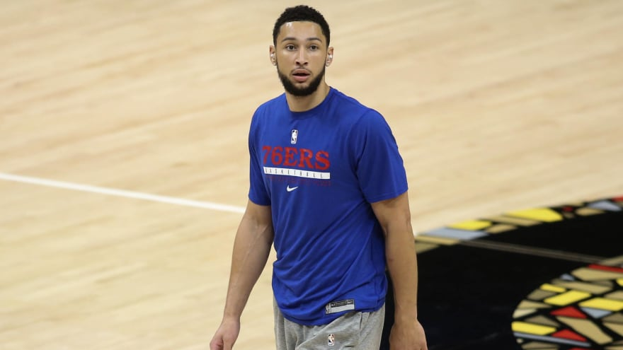 Sixers' Simmons: 'There's a lot of things I need to work on'