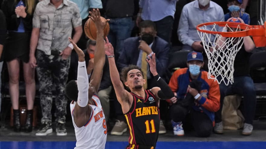 Trae Young liked hearing Knicks fans taunt him with profane chants