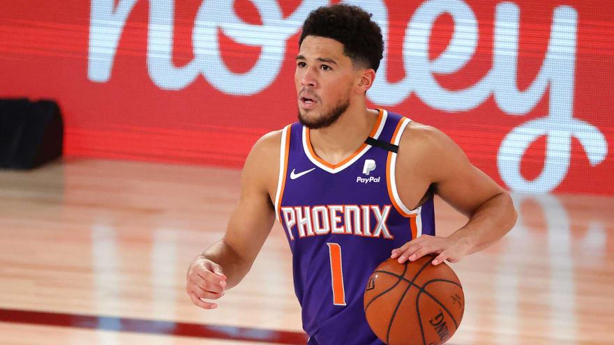 Suns turn Devin Booker moment into Twitter meme