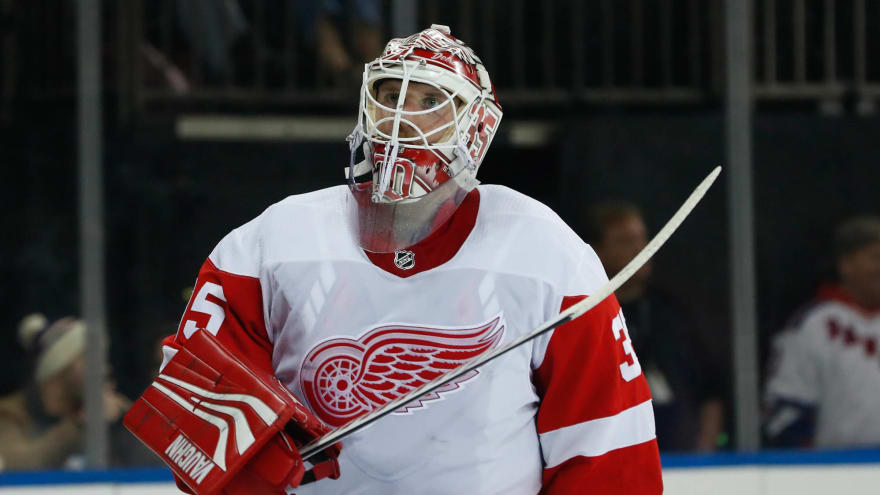 Red Wings goalie Jimmy Howard placed on injured reserve