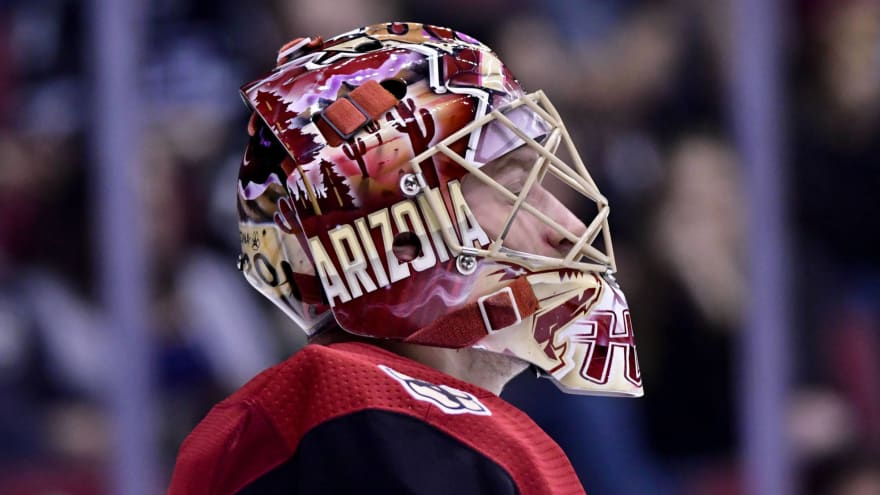 Adin Hill's strong performance may keep him in rotation for Coyotes