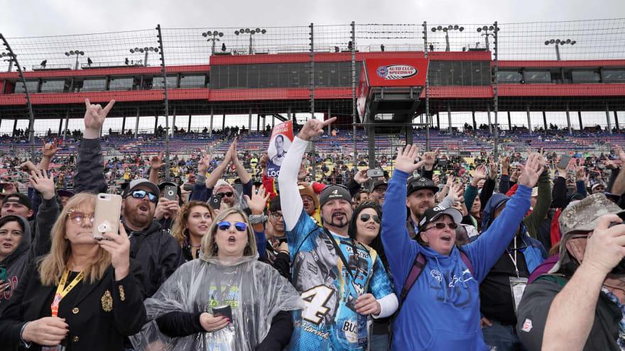 NASCAR to allow fans at Homestead, Talladega