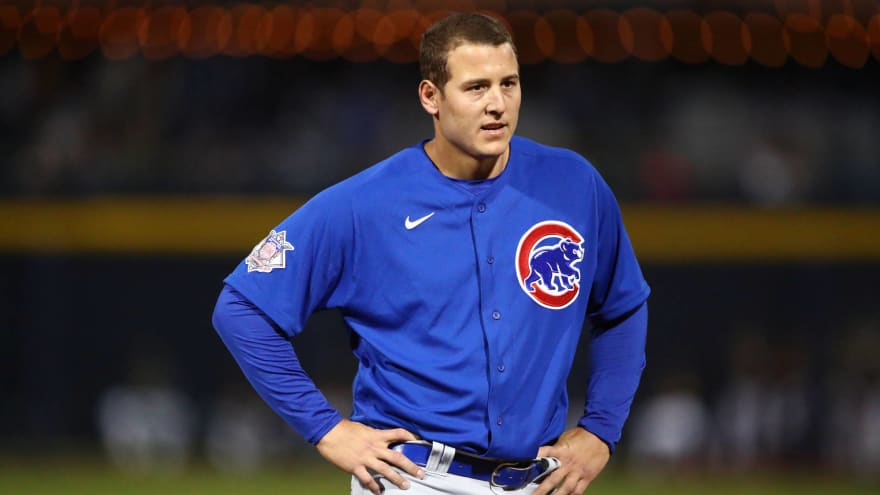 Cubs' Anthony Rizzo trolls Astros during at-bat
