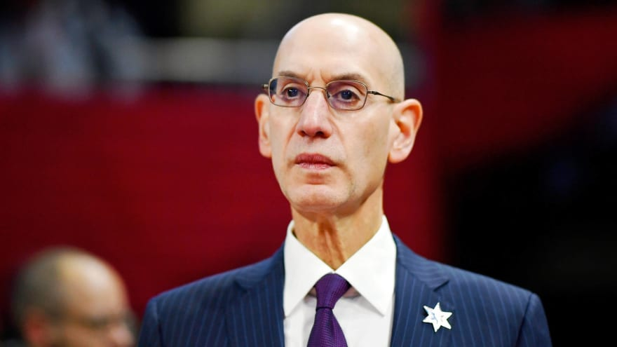 NBA commissioner Adam Silver says eight NBA teams have been tested for coronavirus