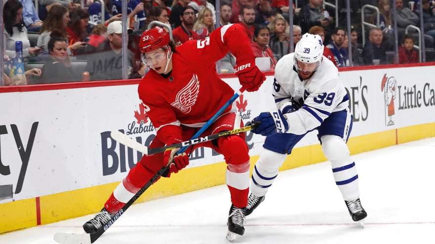 Red Wings to loan Moritz Seider to Germany for the World Juniors
