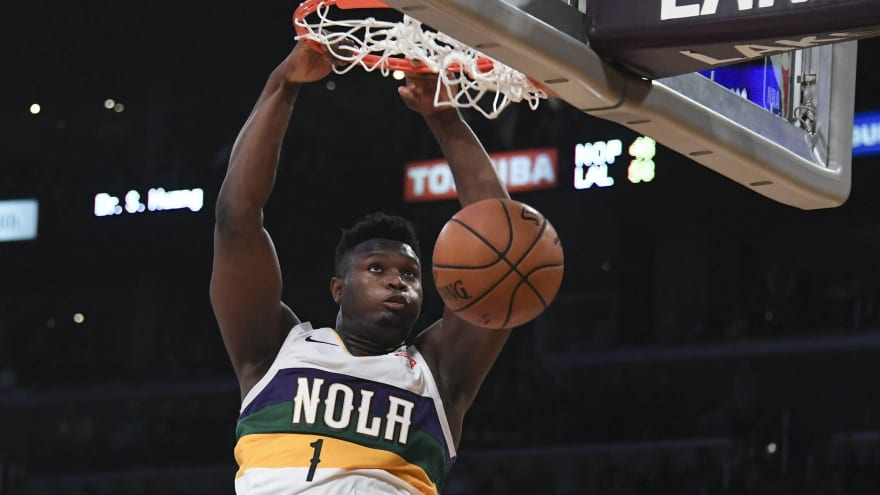 Zion on pace to eclipse Chamberlain as greatest rookie scorer