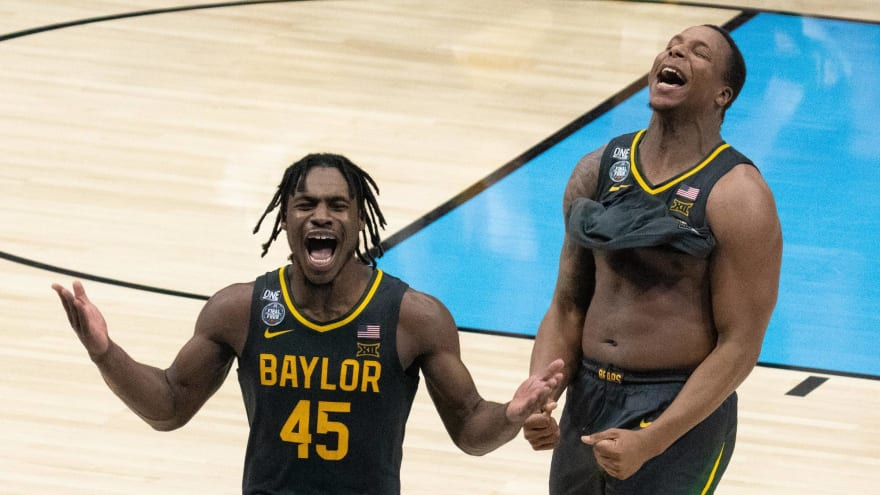 Baylor's Davion Mitchell has worked out for seven or eight NBA teams?