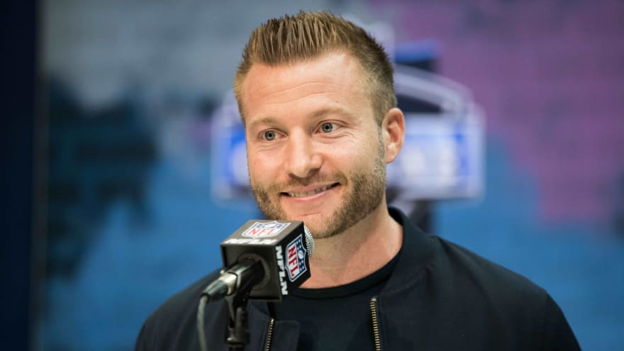 ESPN spoke to Sean McVay about 'Monday Night Football' job