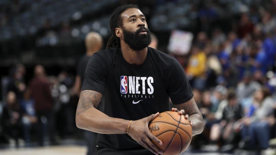 Nets' DeAndre Jordan tests positive, won't go to Orlando