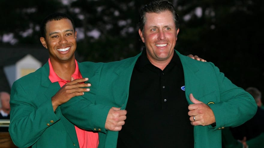 Phil Mickelson through the years
