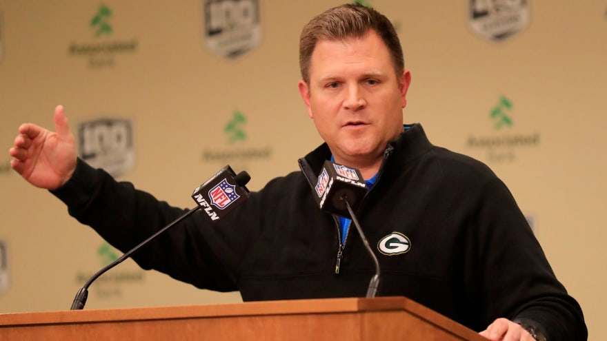 Packers GM responds to report that Rodgers wants him fired