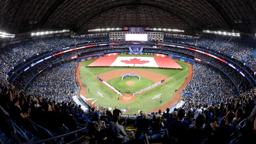 Rogers Centre nearly empty Monday as Blue Jays host Orioles