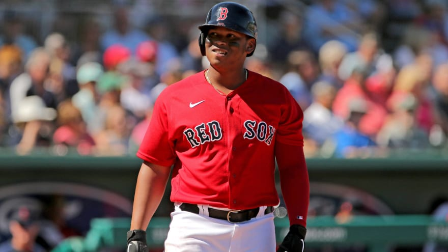Red Sox exercising caution with Rafael Devers, others who may have been exposed to coronavirus