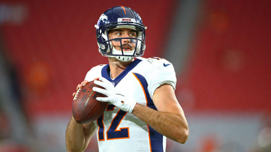 Dolphins audition Paxton Lynch