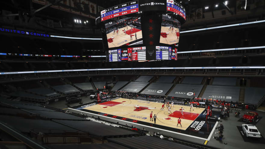Bulls, Blackhawks to welcome fans at 25% capacity starting May 7