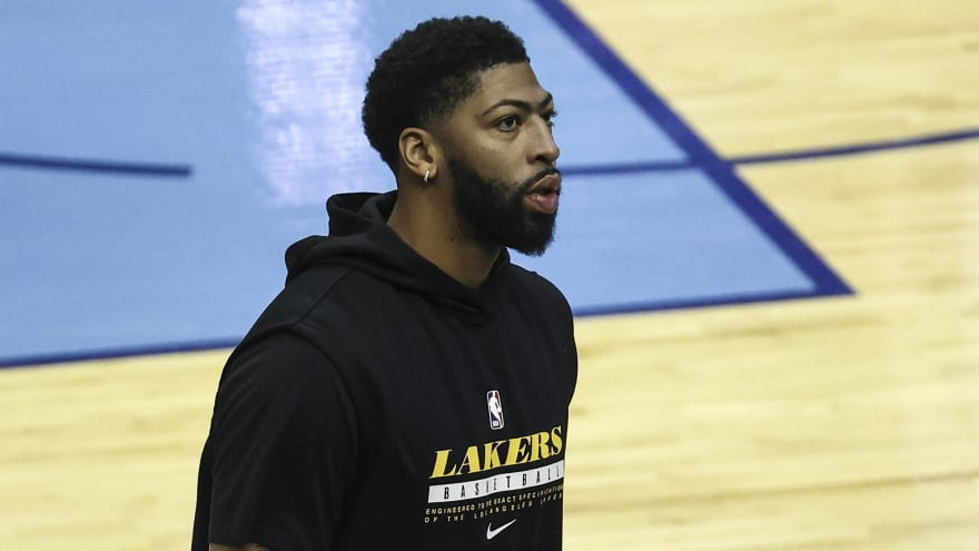 Report: Lakers' Anthony Davis aggravates Achilles injury