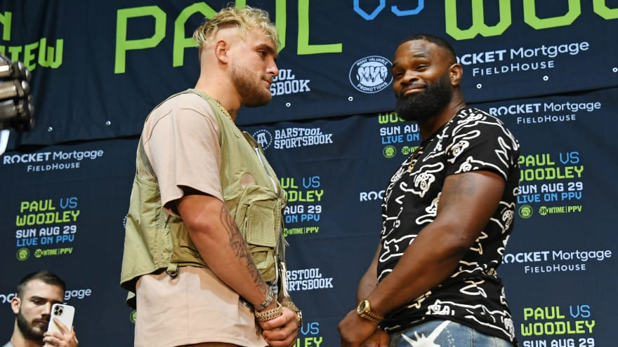 Tyron Woodley: Jake Paul 'scared' to book rematch